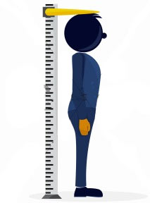 best-time-day-measure-height